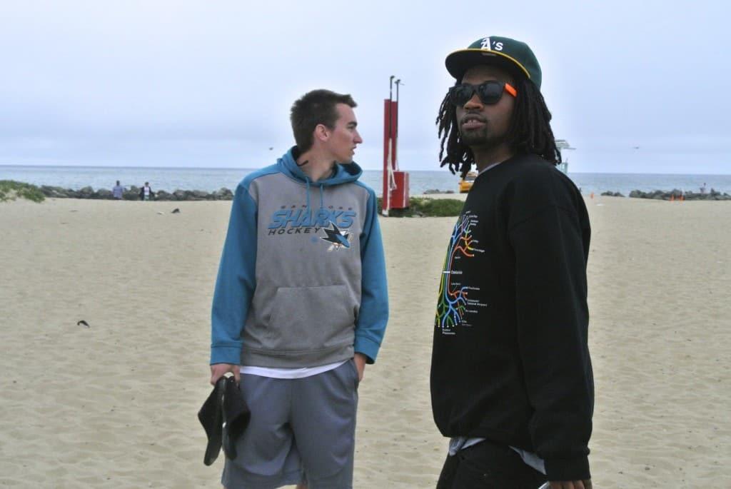 DJ White Tee & The Barhemian at Venice Beach