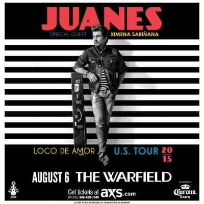 Juanes -Loco De Amor Tour