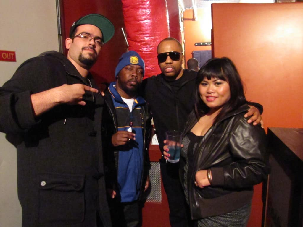 StrongArm, Phife Dawg, Consequence & Rowbot at 330 Ritch