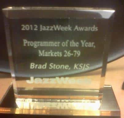 Brad Stone for winning programmer of the year for Jazz Week!