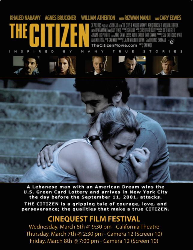 Another Cinequest Recommendation From StrongArm: The Citizen (Dir. Sam Kadi) & More