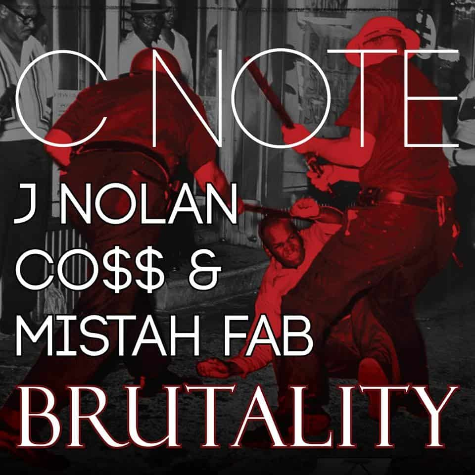 "@C_NoteBeats ' ""Brutality"" Ft. @J_Nolan @Cossus @MistahFAB  Hits #1 On Urban Rotation (Top 40)"