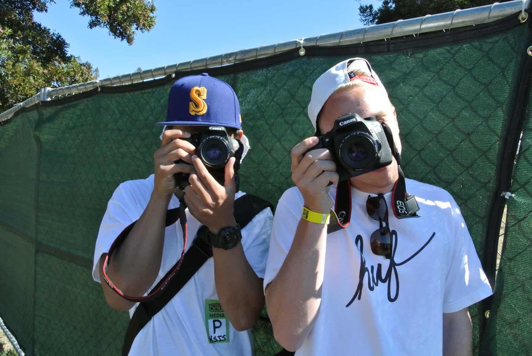 (EXCLUSIVE PHOTOS) @DJCombsy @The_Real_Seatty & @ZeroLuckSlaps Cover @RockTheBells Festival For KSJS Urban