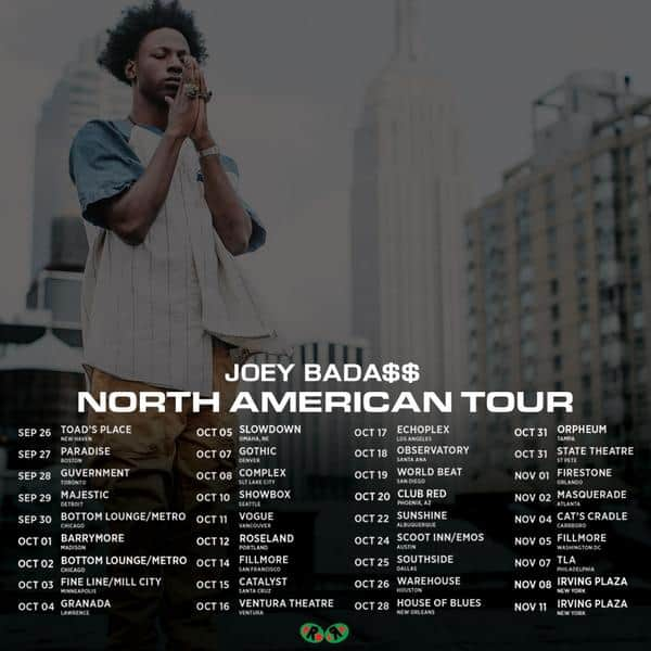 Joey Bada$$: B4DA$$ Tour @ The Catalyst