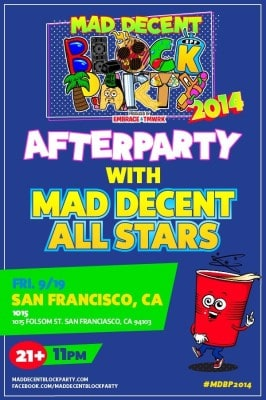 Block Party After Party Poster 2