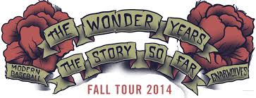 The Wonder Years And The Story So Far Tour 14′