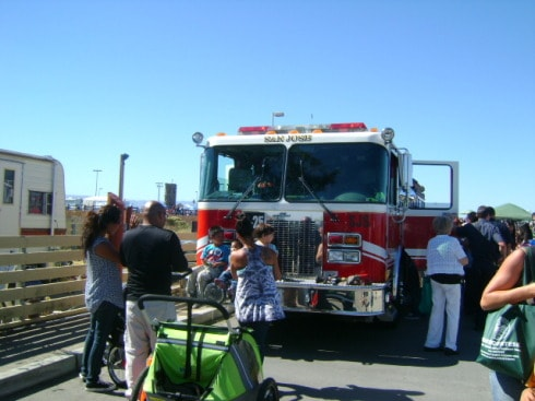 Day of the Bay- Fire Truck