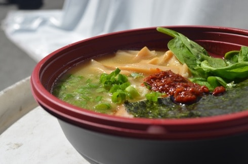 Raman Fest- Closeup Of Noodles