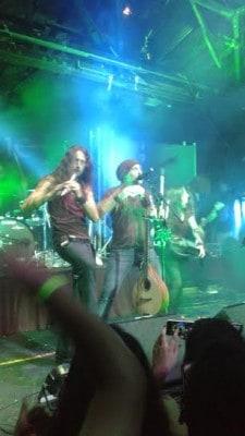 Rock Concert Review Flute In Blue 2