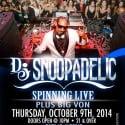 Snoopadelic DJ Poster