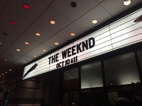 The Weeknd-Live