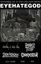 Tyranny Of Will Tour 2014 @ The Metro Operahouse