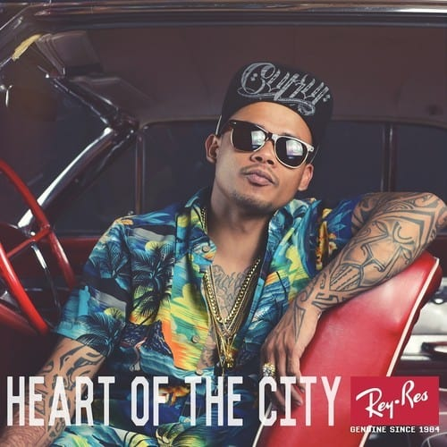"@ReyResurreccion Is In Rare Form On ""Heart Of The City"" LP."