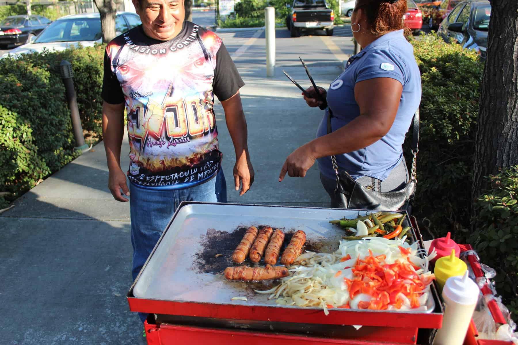Local Food At Cart