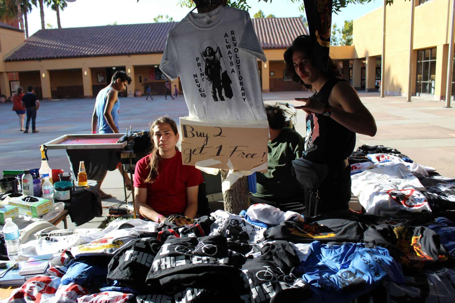 T Shirt Vendor Booth