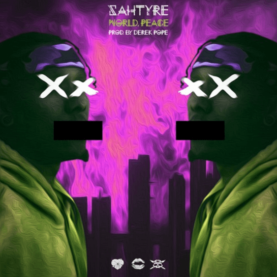 "Clever Wordplay And Talented Songwriting Propel @Sahtyre 's ""World, Peace"" To #1 On Urban Charts"