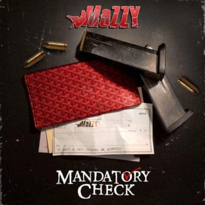 Mozzy- Mandatory Check Album Cover