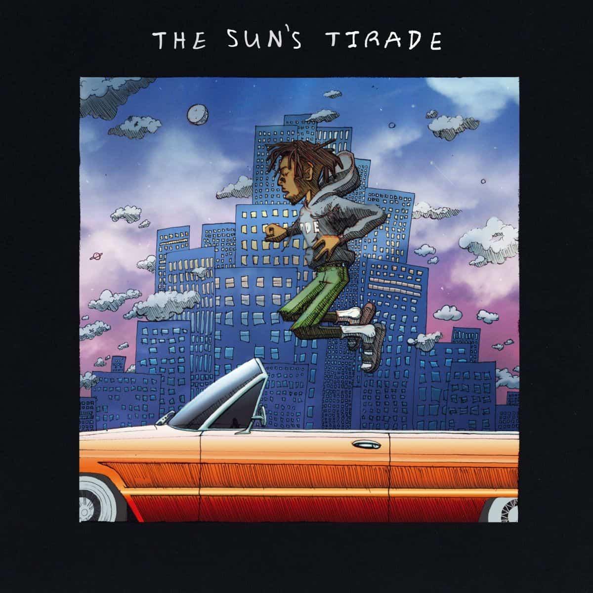 Isaiah Rashad – The Sun's Tirade Album Cover