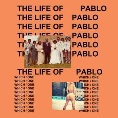 Kanye West- The Life Of Pablo Album Cover