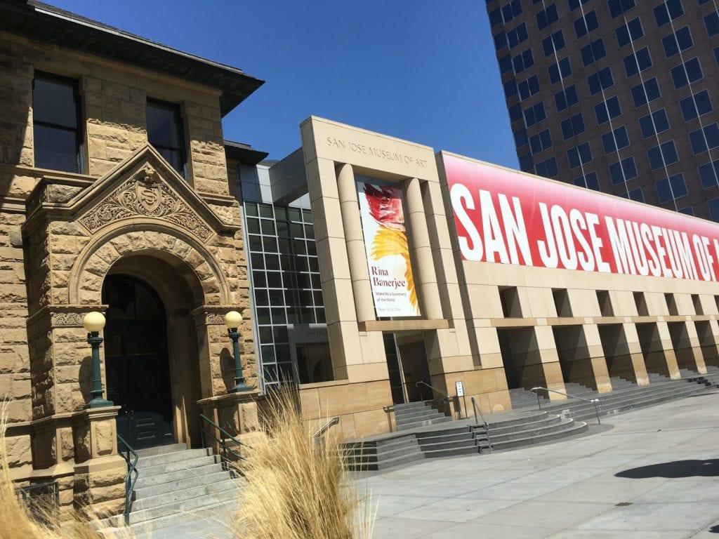 Beige Building Front, San Jose Museum Of Art